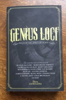 Genius Loci anthology cover